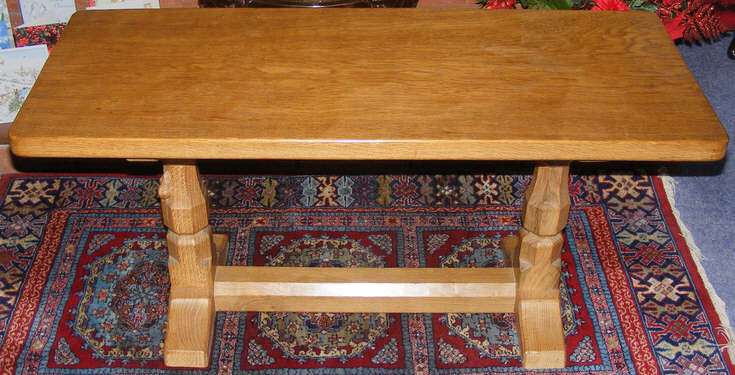 Robert thompson refectory coffee table 1 of 2 for Table th visible